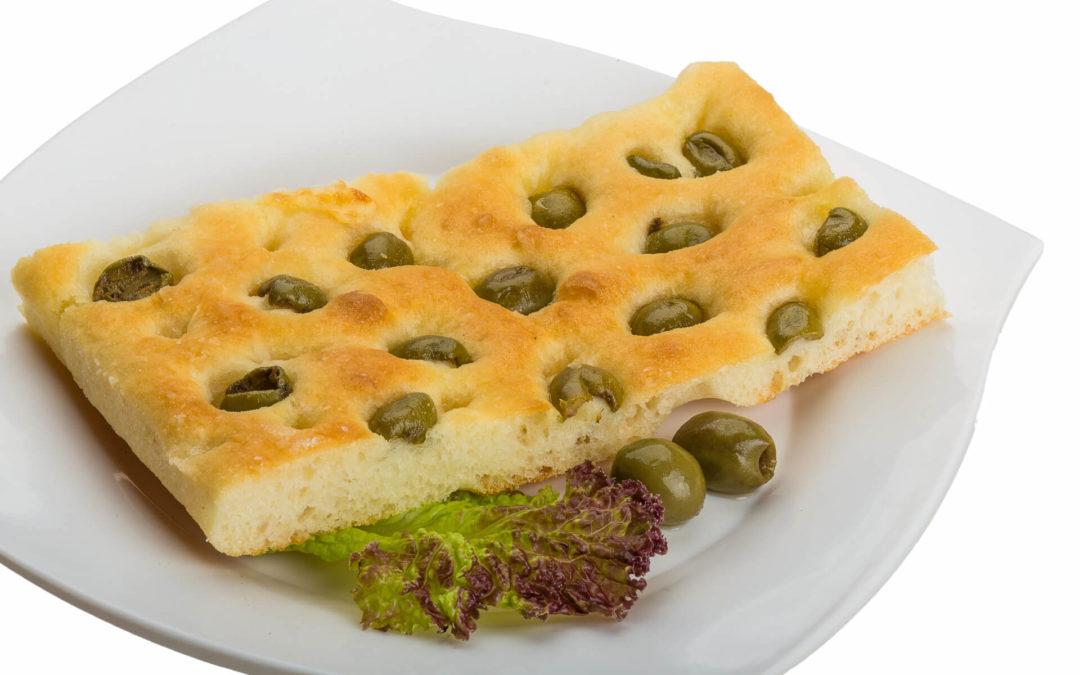 Olivenkuchen